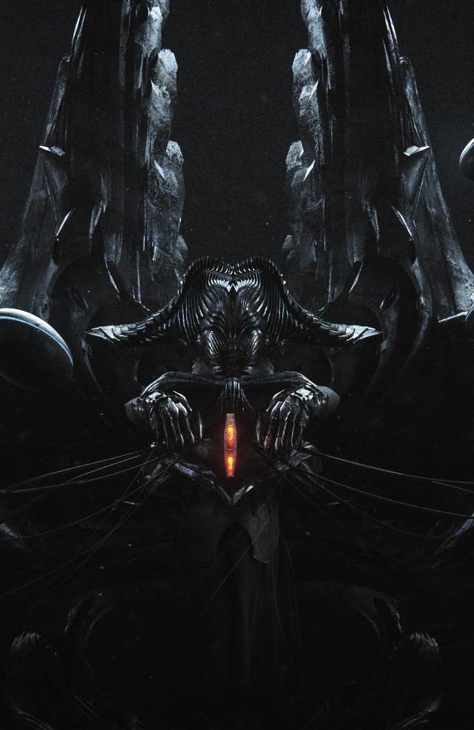 The Silent Master - Title Design