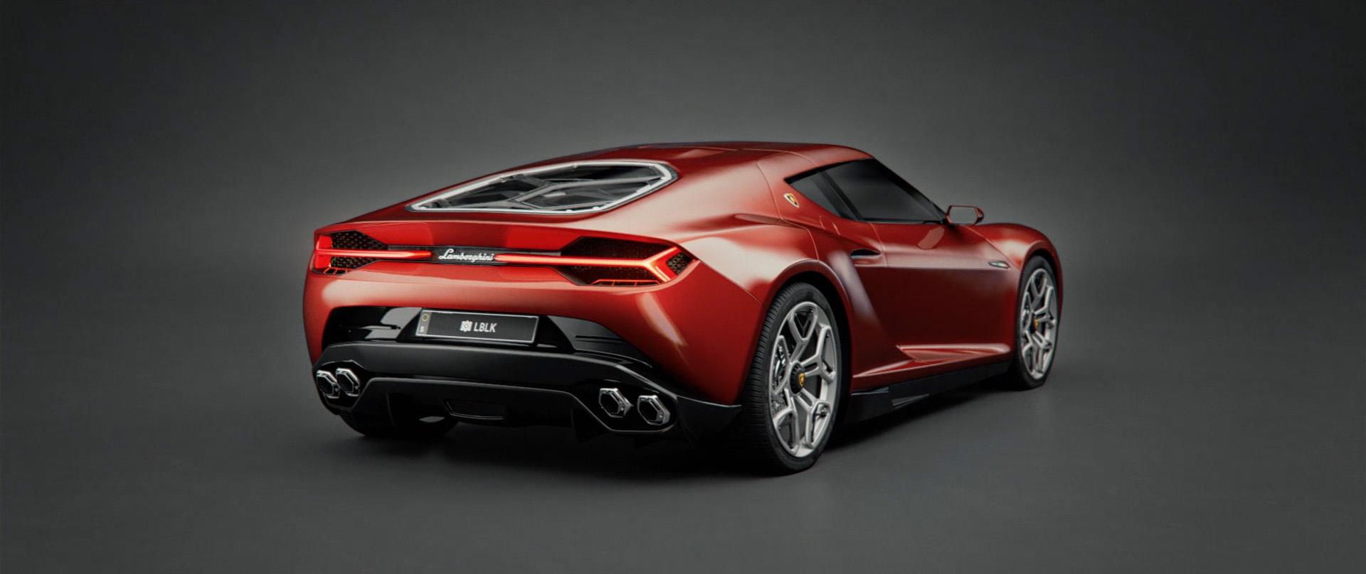 Lamborghini Astarion - Animation